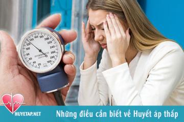 Huyết áp thấp và những điều cần biết