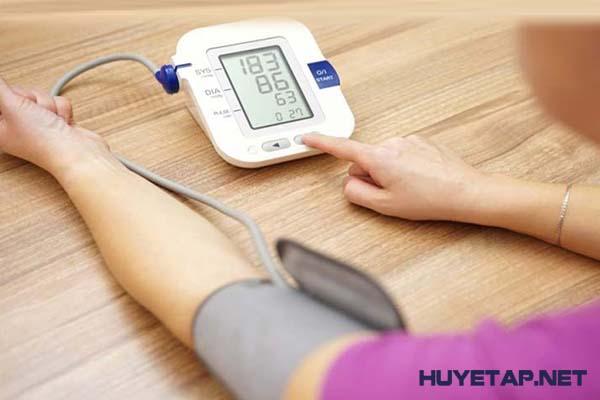 Các biện pháp khắc phục huyết áp thấp tại nhà 1