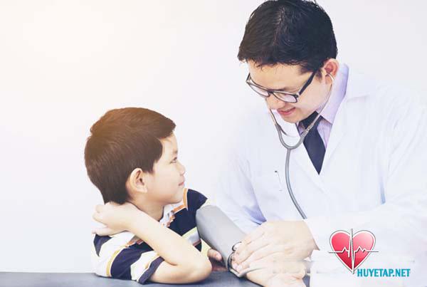 Huyết áp cao ở trẻ em không nên chủ quan 1