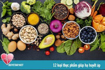 12 loại thực phẩm giúp hạ huyết áp