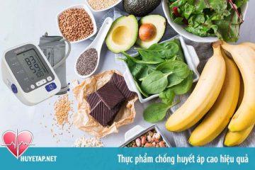 17 thực phẩm chống cao huyết áp hiệu quả