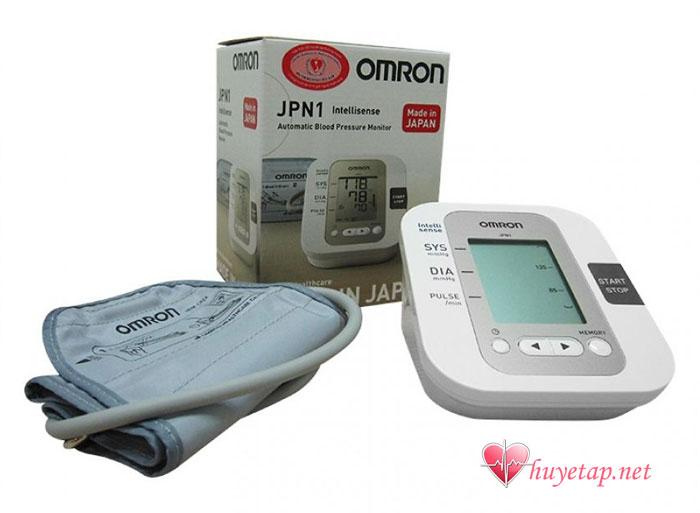 Tìm hiểu chung về máy đo huyết áp Omron JPN1 1