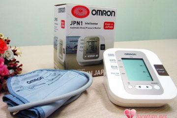 Tìm hiểu máy đo huyết áp Omron JPN1 – sản xuất tại Nhật