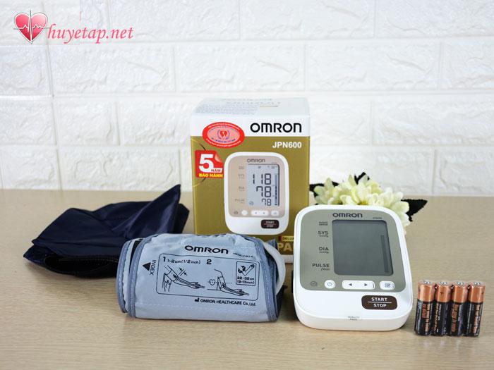 Đặc điểm và thông số kỹ thuật của máy đo huyết áp Omron Jpn600 1