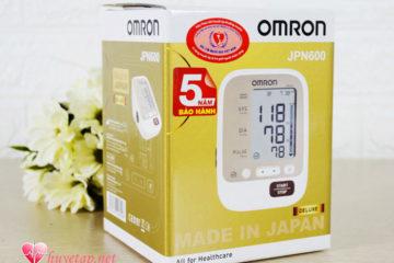 Máy đo huyết áp Omron JPN600 – Chất lượng Nhật Bản