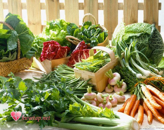 Các loại rau xanh 1